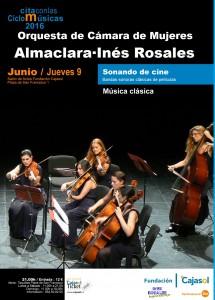 Cartel Almaclara·Inés Rosales 9 junio
