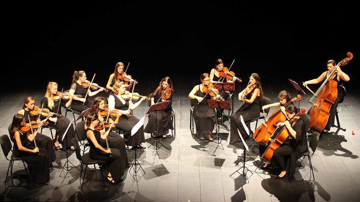 Orquesta de Cámara de Mujeres Almaclara·Inés Rosales.