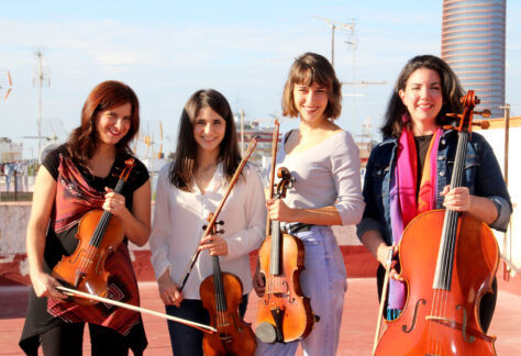 Cuarteto Almaclara · Inés Rosales